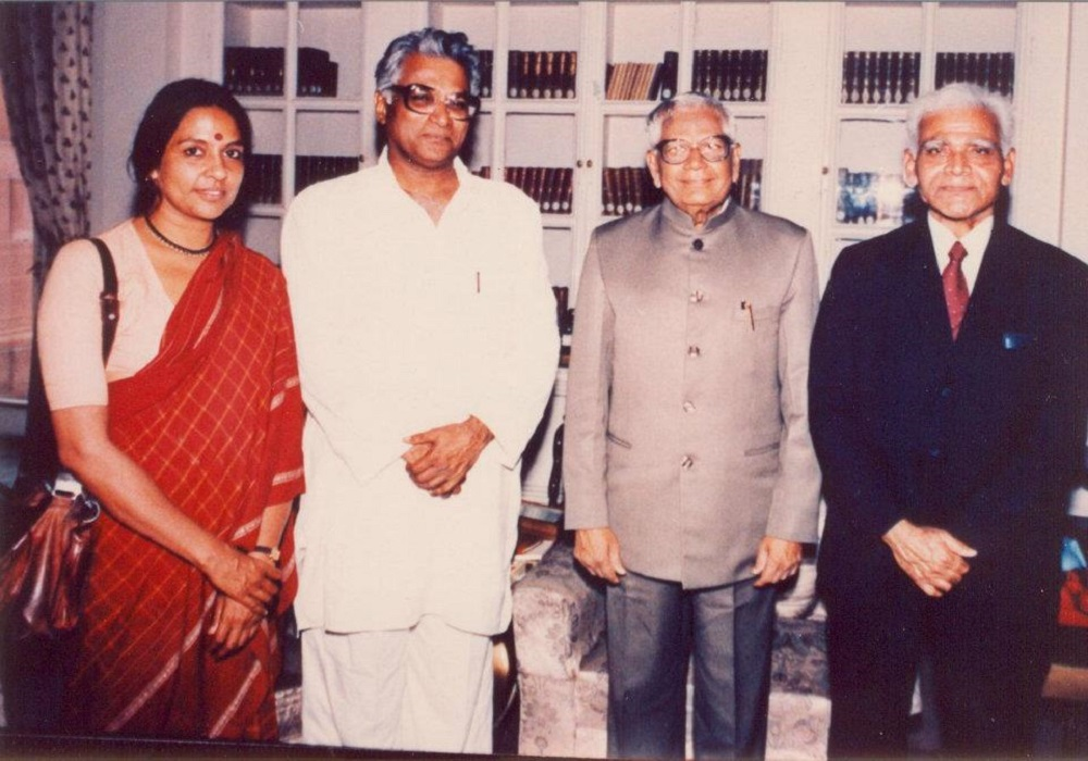 With the President of India