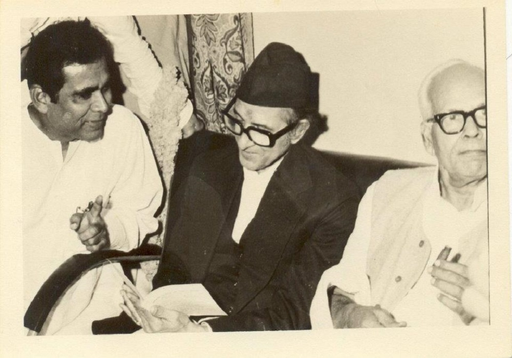 Dr. Sinha with B.P. Koirala