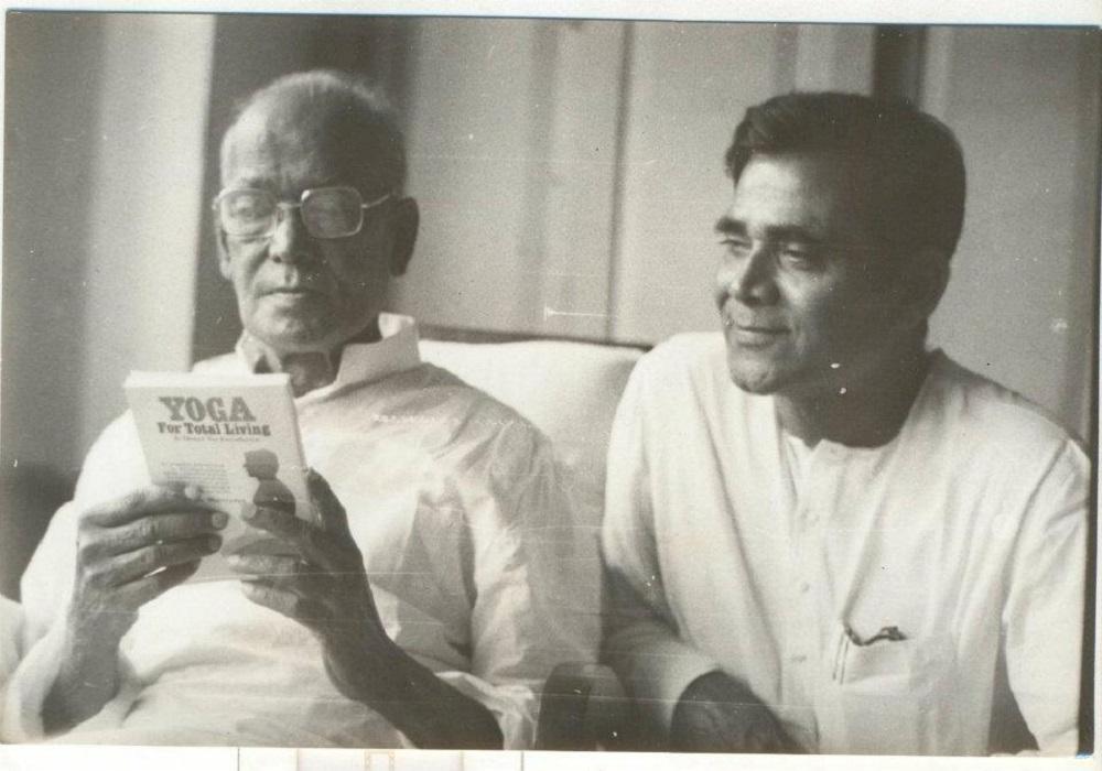 With Jaiprakash Narayan