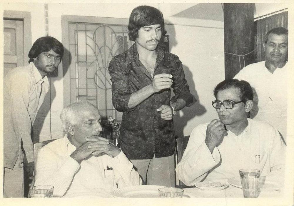 With Madhu Dandavate